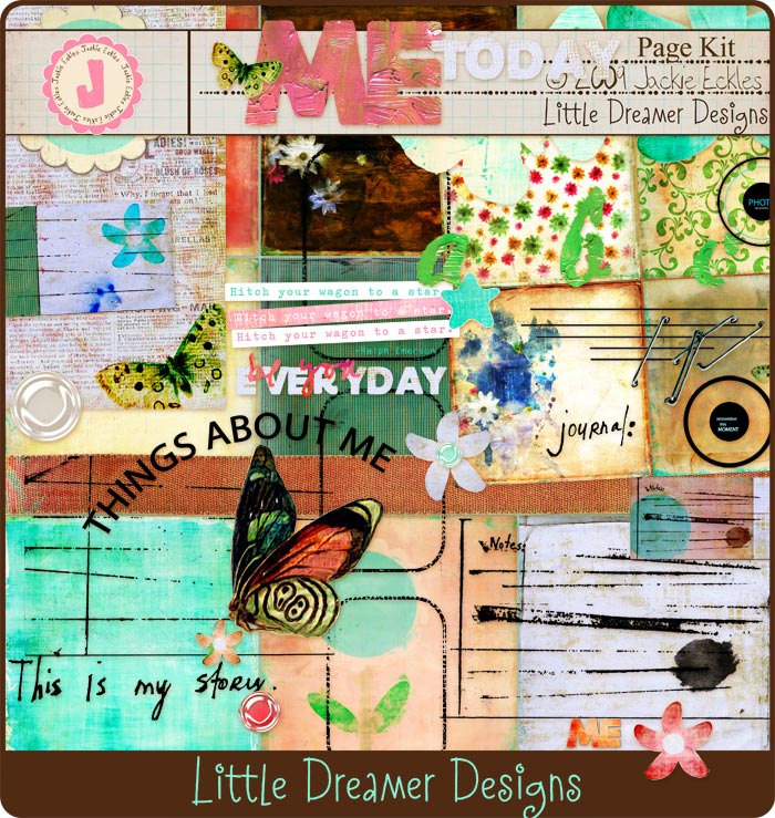 Little Dreamer Designs: Me by Jackie Eckles