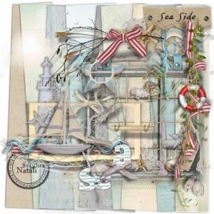 Scrapbook Graphics: Sea Side by Studio Natali