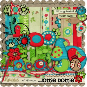 The Digi Chick: Lottie Dottie by Pamela Donnis and Amy Sumrall