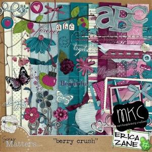 Scrap Matters: Berry Crush by Erica Zane and Mari Koegelenberg