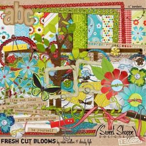 Sweet Shoppe Designs: Fresh Cut Blooms by Robin Carlton & Christy Lyle