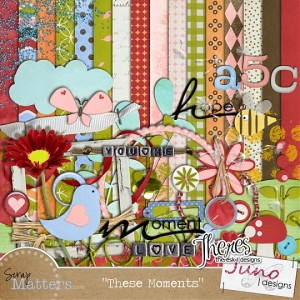 Scrap Matters: These Moments by Juno Designs