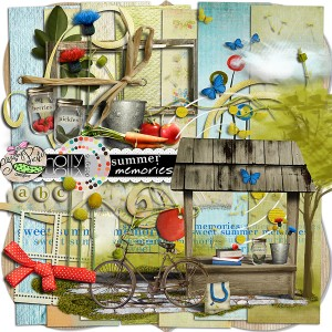 Shabby Pickle Designs: Summer Memories by Holly Designs