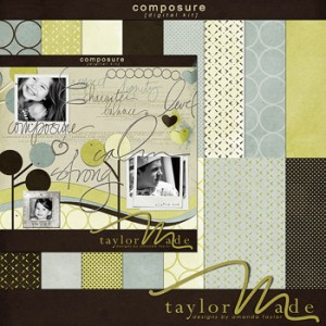 Cat Scrap: Composure by TaylorMade Designs
