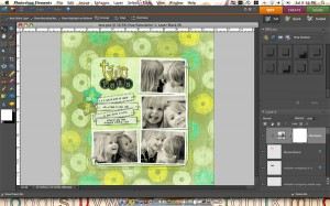 Step 1: Open the PSD file you wish to save to gallery size.