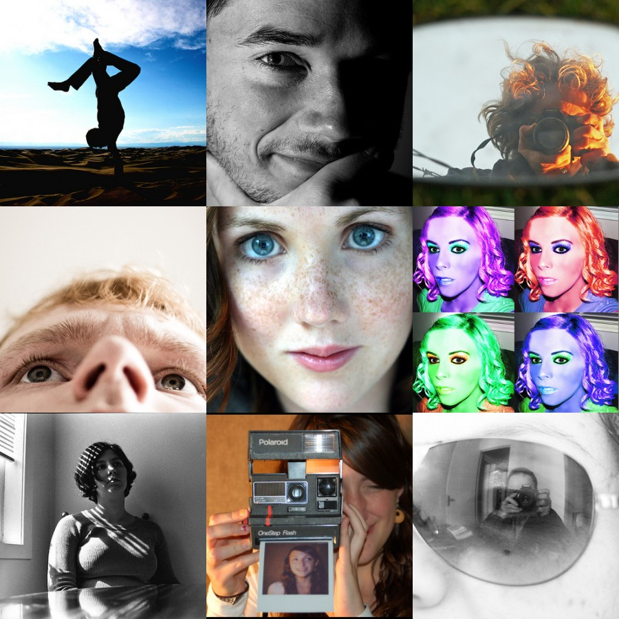 Interesting Ideas For Self Portraits