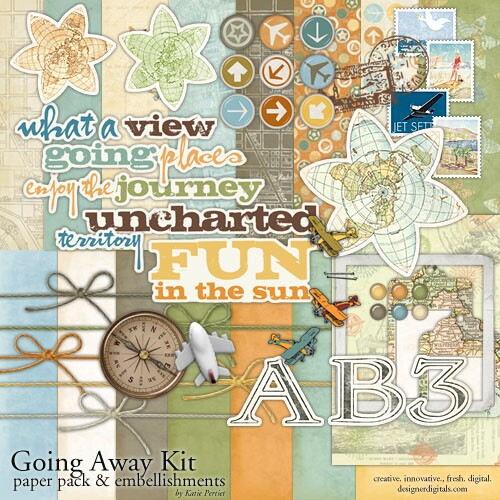 Sure Thing Supplies For Travel Scrapbooking Simple Scrapper