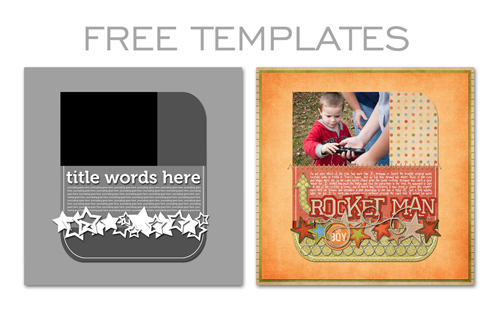 Download Free Digital Templates - Simple Scrapper