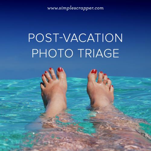 Organizing Vacation Photos