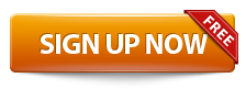 Sign Up Now Free - Button Orange