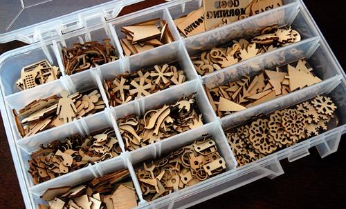 wood veneer storage