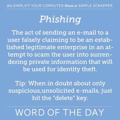 WOTD Phishing