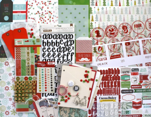 Document_December_kit__Doc_December__-__57.50___Cocoa_Daisy_Scrapbooking_Kit__monthly_scrapbook_kits_by_subscription