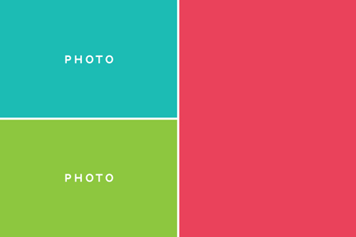 Free Photo Card Template from Simple Scrapper