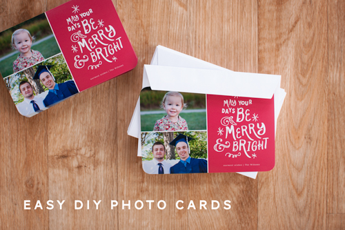 Easy DIY Photo Cards