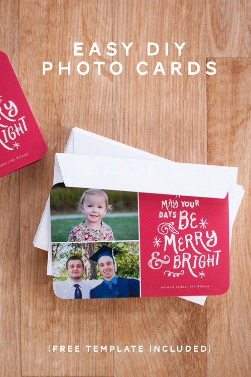 Easy DIY Photo Cards from Simple Scrapper