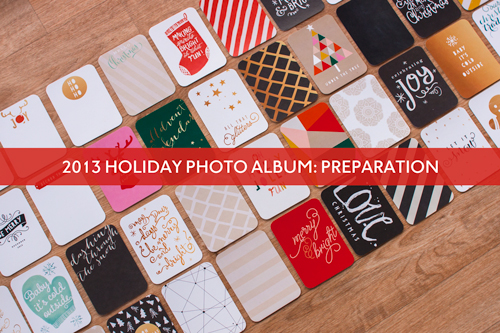 Scrapbooking the Holidays with a Simple Photo Album from Simple Scrapper