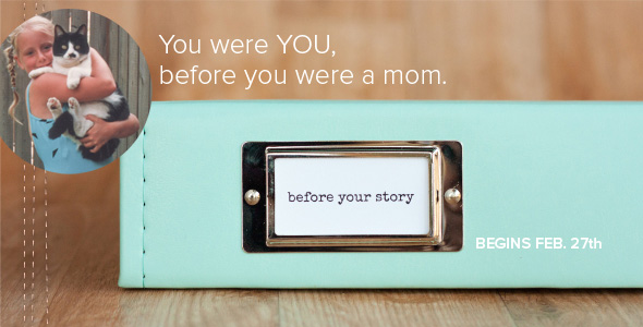 Before Your Story workshop at Big Picture Classes