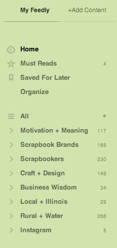 Feedly Sidebar | How to Keep Up with Blogs at Simple Scrapper