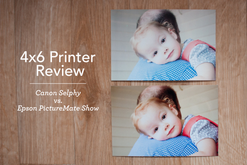 4x6 Printer Review Canon Selphy Vs Epson Picturemate Show Simple