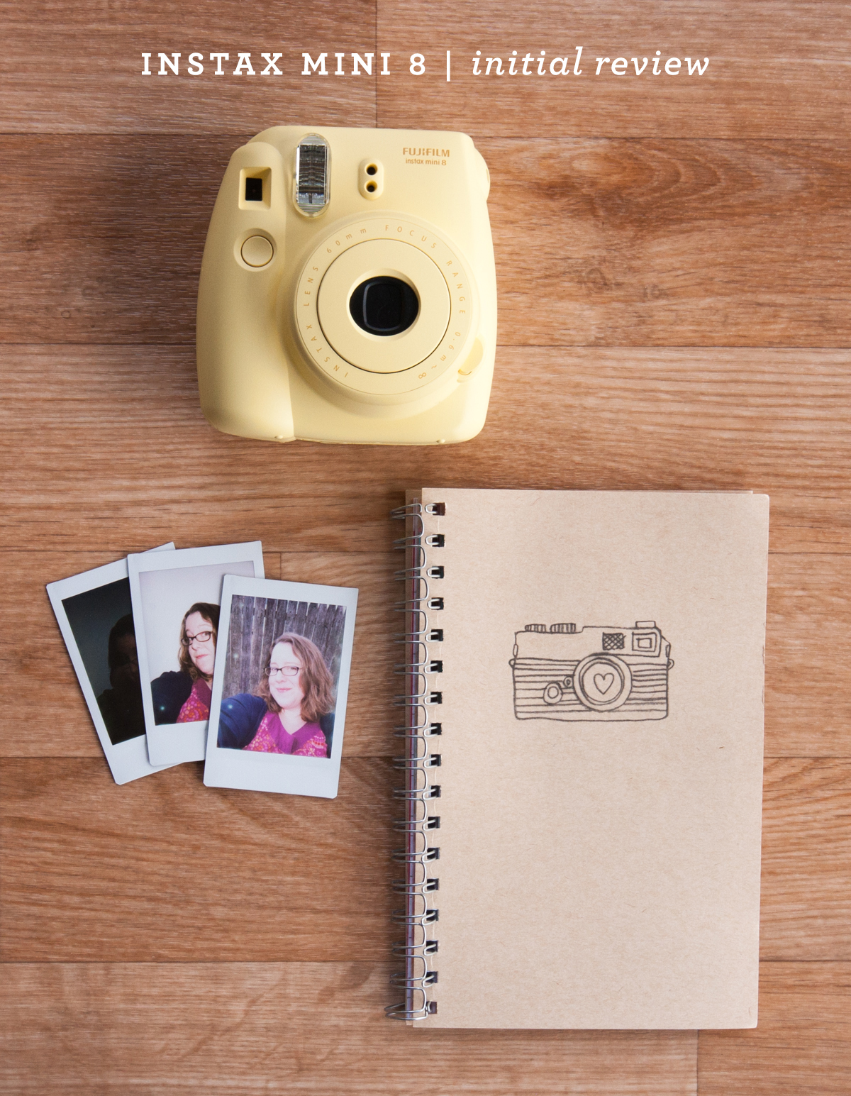 Using the Instax Mini 8 Camera from Simple Scrapper