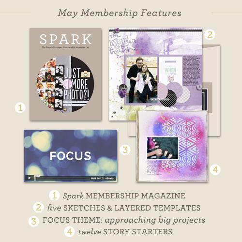 May Membership Reveal at Simple Scrapper