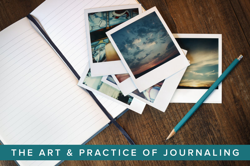 The Art & Practice of Journaling mini-course at Simple Scrapper