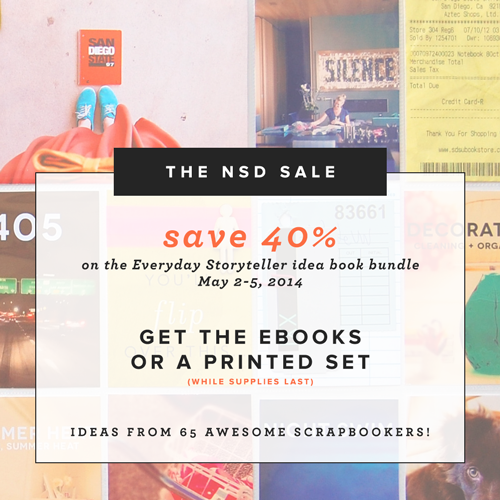 Everyday Storyteller NSD Sale