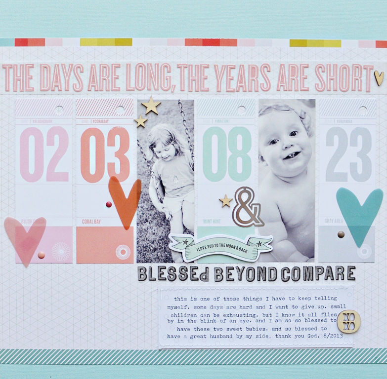 Years are Short by Jen Chapin | Inspiring July's Membership at Simple Scrapper