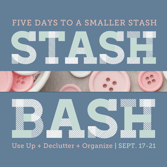 Stash Bash: A 5-Day Scrapbook Organizing Party