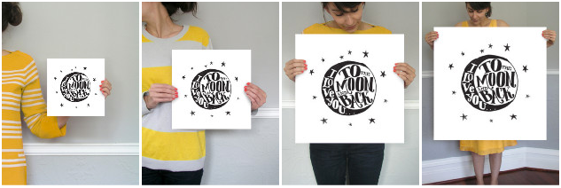Beautifully Simple Wall Art from Minted   Stash Bash Sponsor