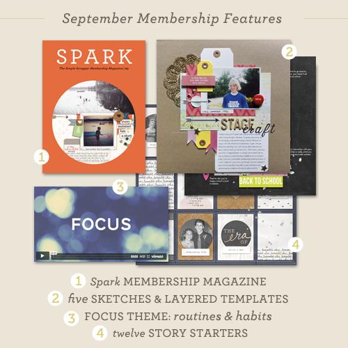 September Membership Reveal + Free Calendar Printable