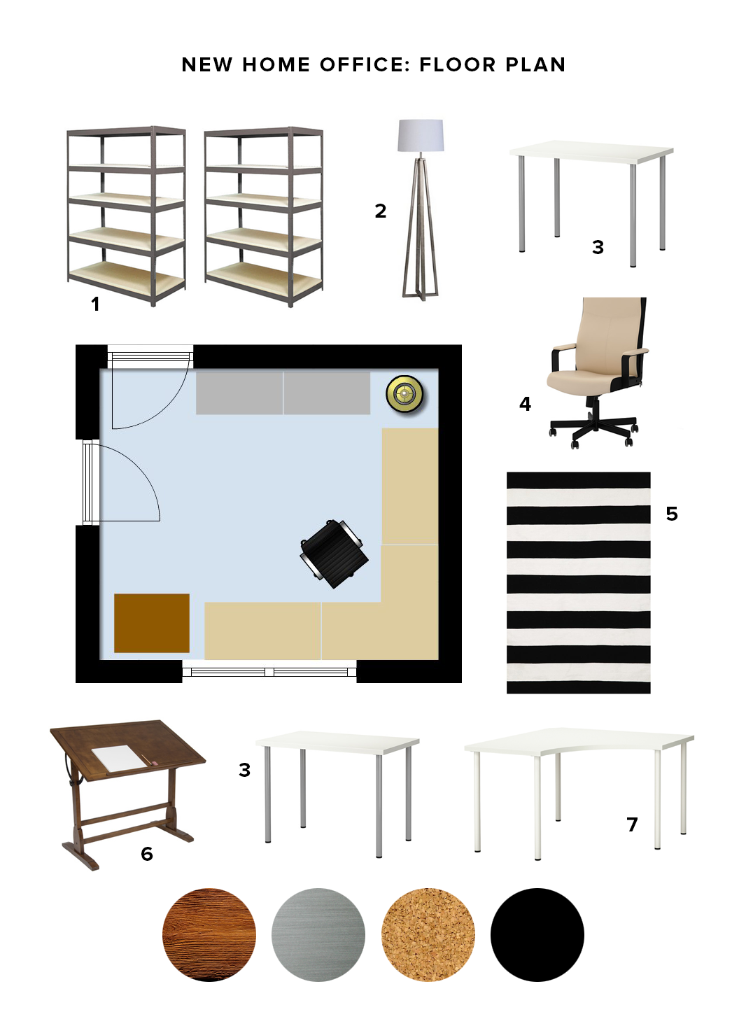 Floor Plan for My New Home Office