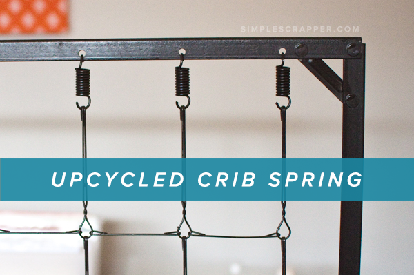 Upcycling a Crib Spring for Your Creative Workspace