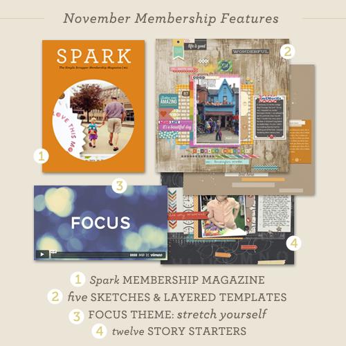 November Membership Reveal + Free Calendar Printable