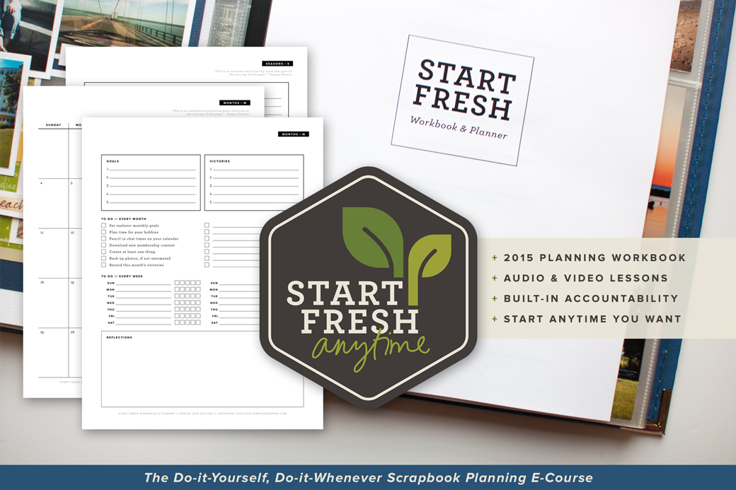 Start Fresh Slide #1