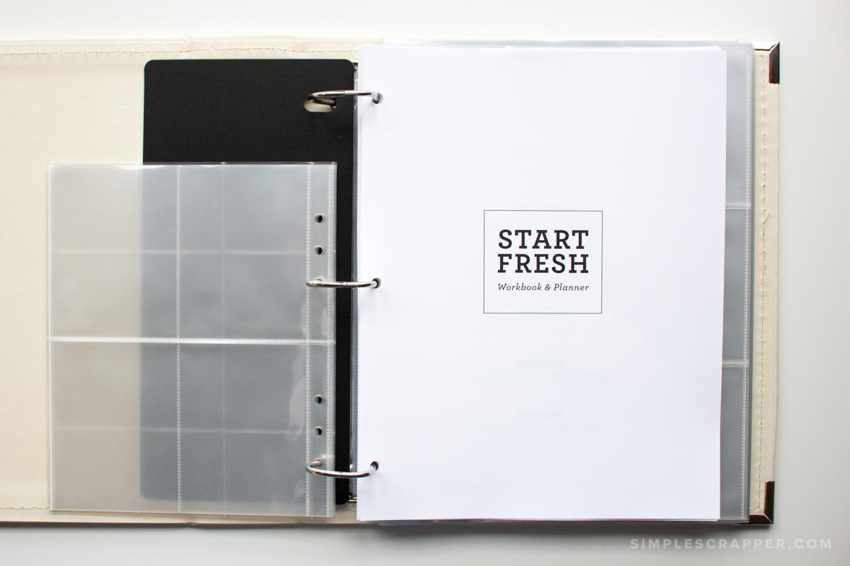 How I'm Using the Start Fresh Planner