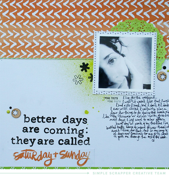 Layout by Alexa Gill for Simple Scrapper