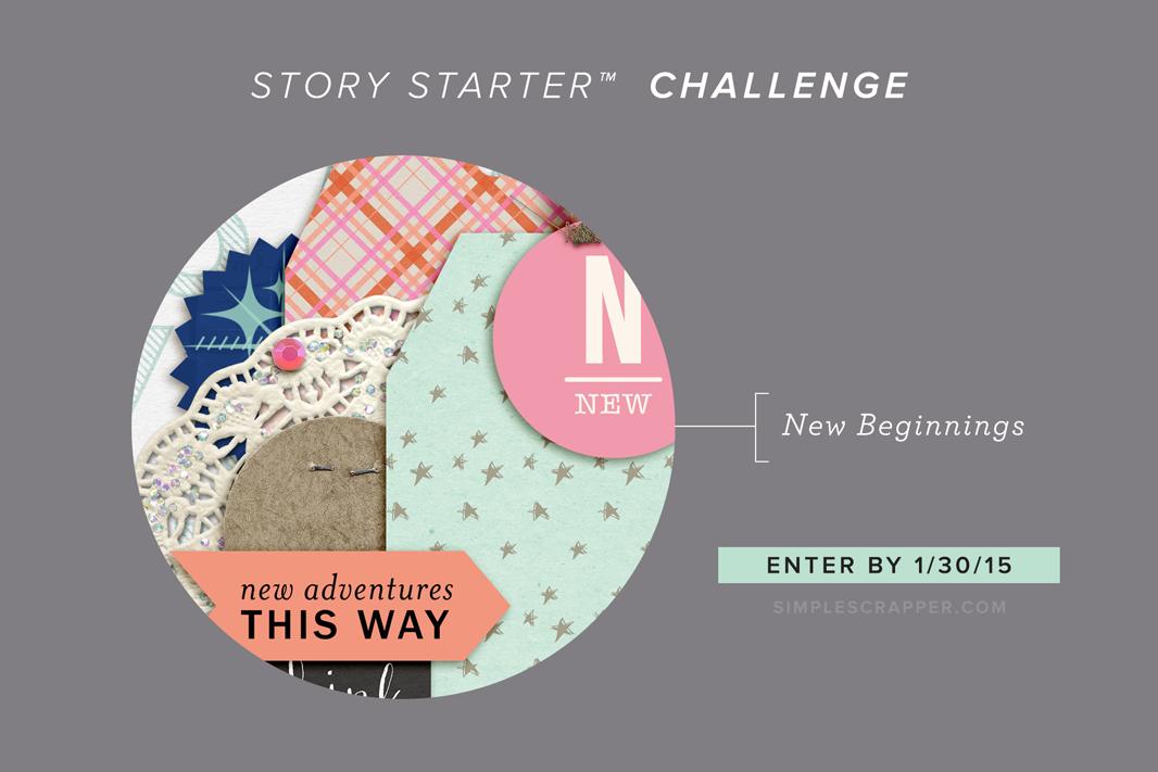 January's Story Starter™ Challenge