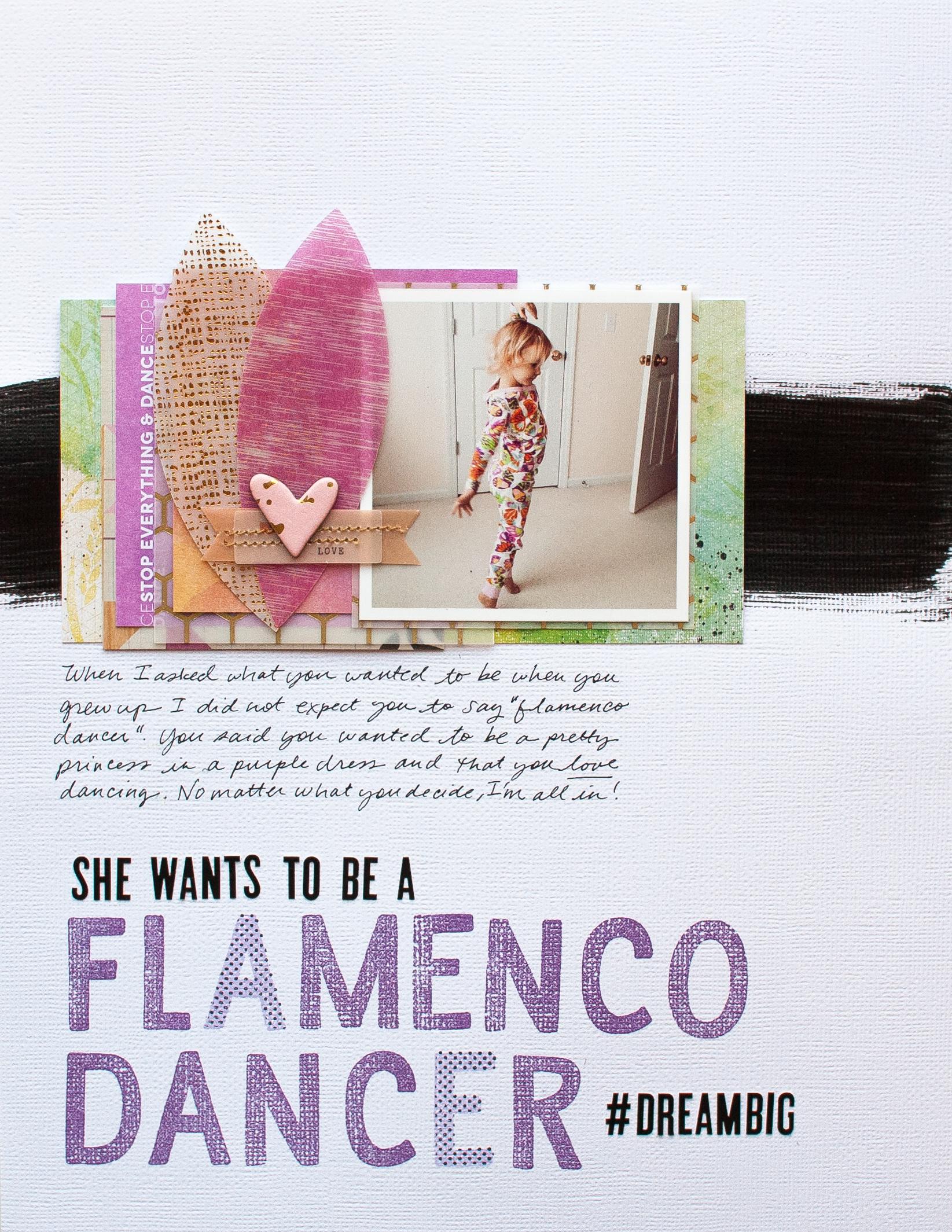 Flamenco Dancer by Jennifer Wilson
