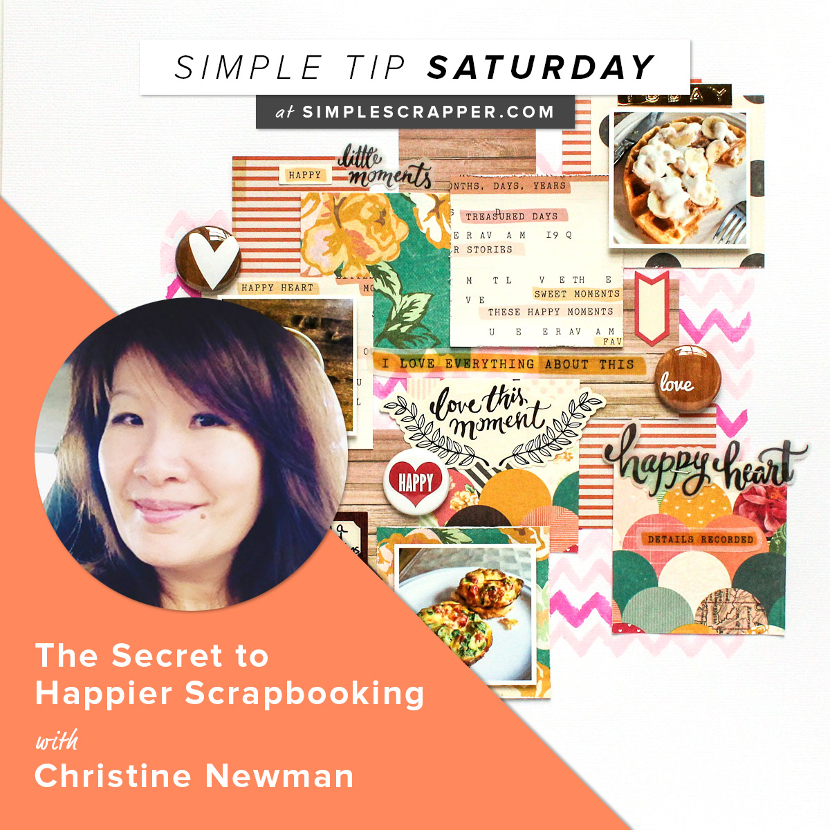Simple Tip Saturday at Simple Scrapper