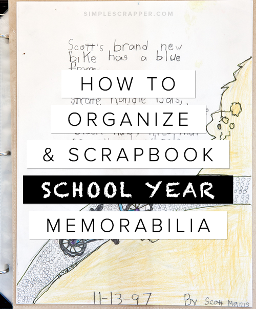 Three-Part Series on Curating School Year Memories