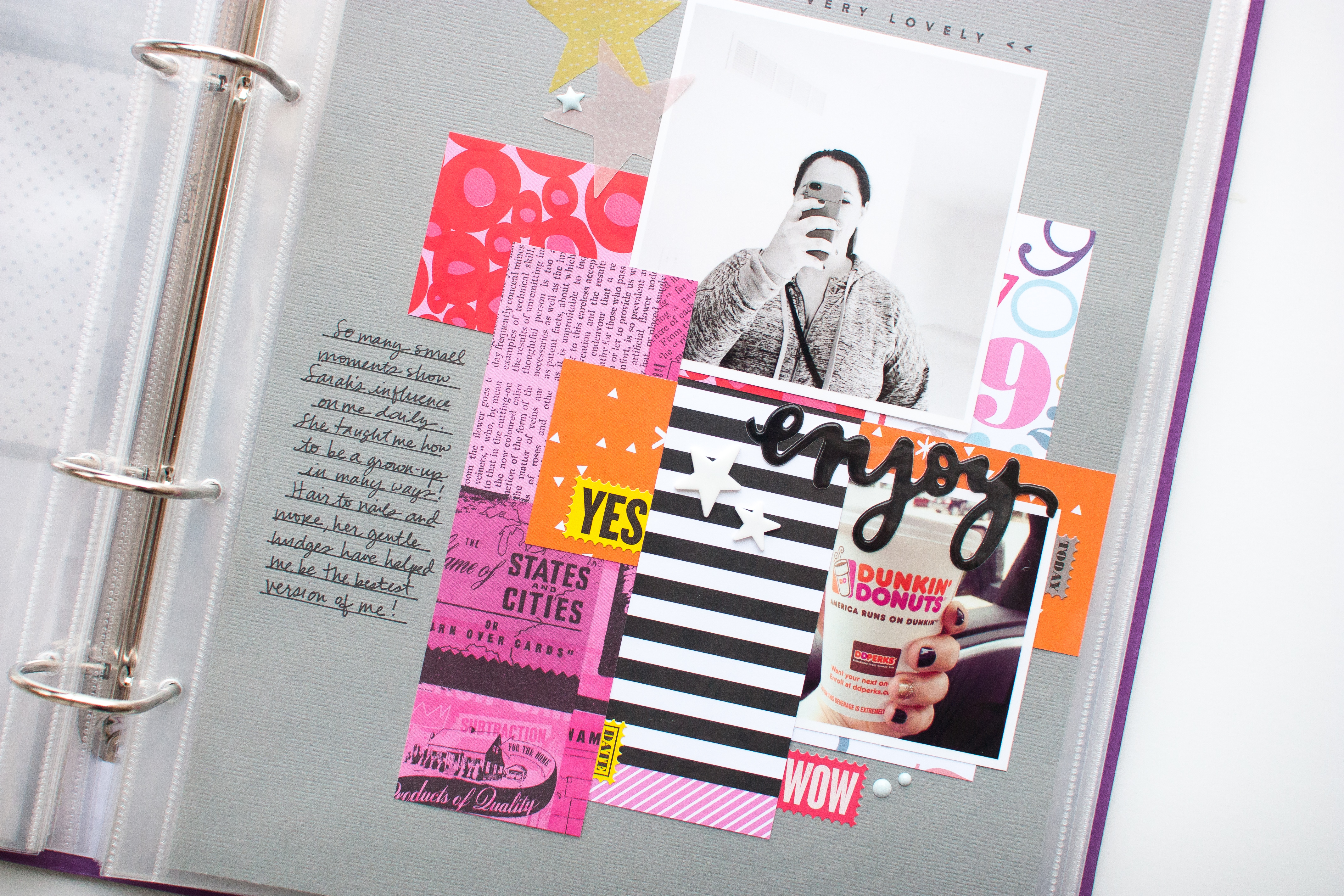 3 Simple Steps to Purposeful, Productive Scrapbooking