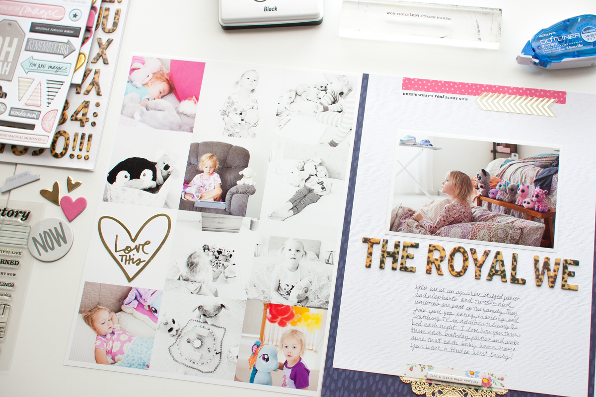 What Modern, Simple Scrapbooking Actually Looks Like
