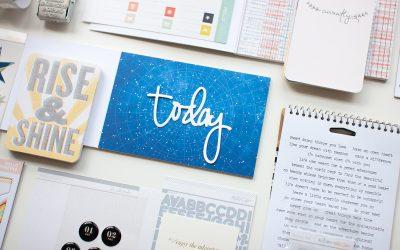 Ideas for Organizing Scrapbook Kits