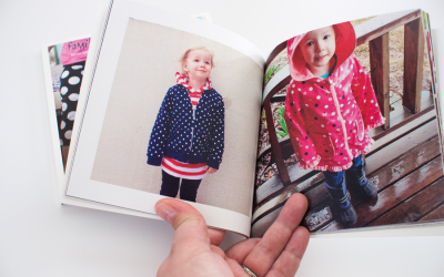 Minimalist Scrapbooking with a Photo Book Series