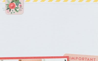 Hacks for Simplifying Scrapbook Page Design