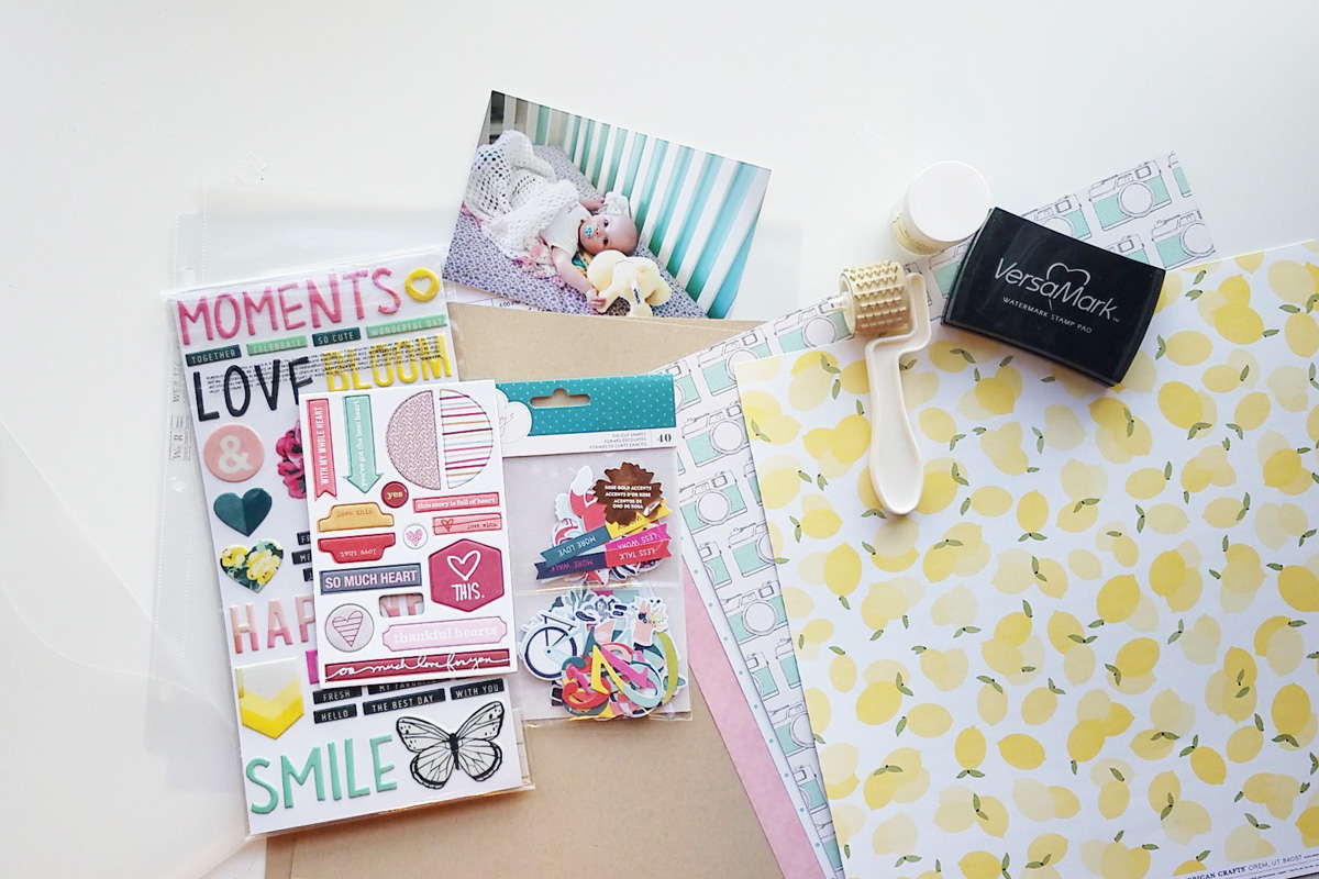 How to Make a Scrapbook Kit