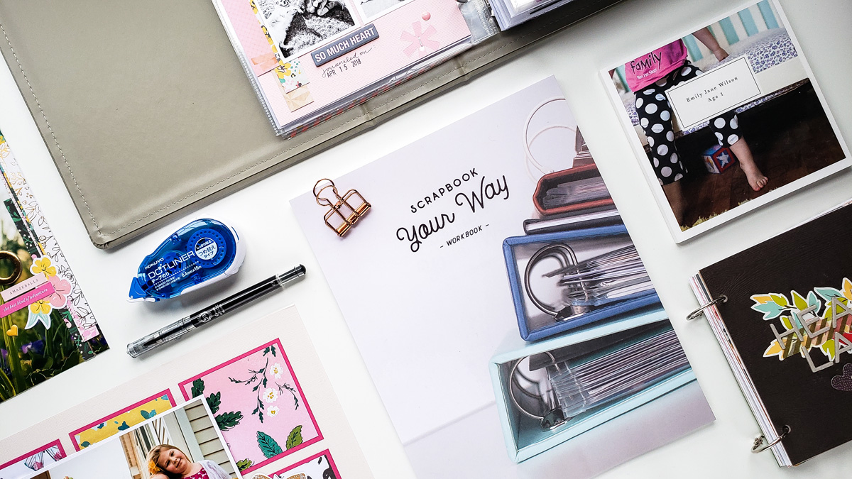 Scrapbook Your Way at Simple Scrapper