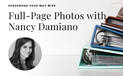 SYW125 – Full-Page Photos with Nancy Damiano